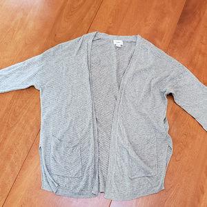 Grey Old Navy Cardigan
